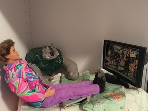 Barbie Flat screen TV