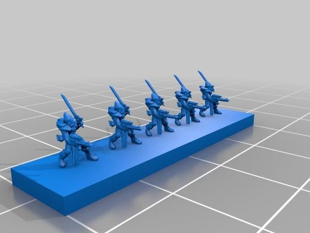 epic eldar infantry