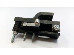 Adjustable Z- endstop mount on 8mm rod