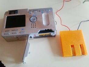 Dummie battery for Pentax Optio camera