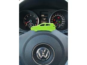 VW Golf 6 KeyChain