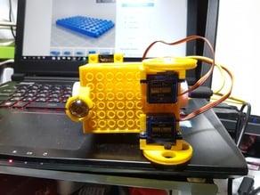 LEGO micro:bit robot car