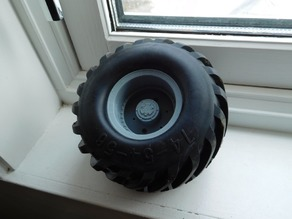 RC monster truck wheel