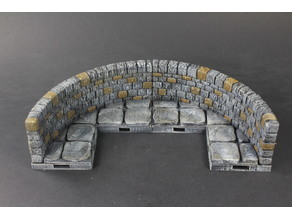 OpenForge 2.0 Dungeon Stone Curved