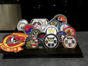 Challenge Coin Stand