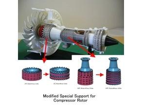 Jet Engine; Geared Turbofan (GTF), Modified Parts