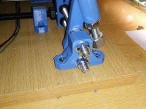 Fasteners feet 2x8mm Prusa i3 Hephestos
