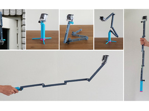 GoPro counter balance folding stick.