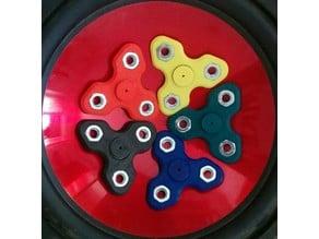 Triple Fidget Spinner Custom Design