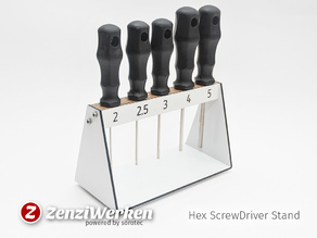 Hex ScrewDriver Stand cnc