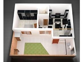 My Apartment Model 1 : 0.0125