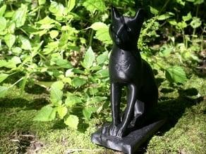 Bast/Cat Statue Scan (via ReCap360)