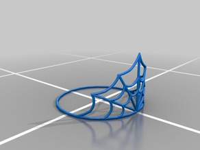 Spider Web Tiara