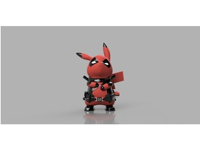 Deadpool Pikachu Multimaterial
