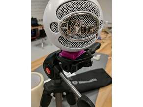 Snowball Microphone Tripod Plate