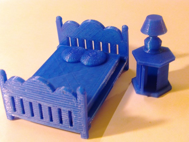 3 Inch Doll Furniture By Pierrimus Thingiverse
