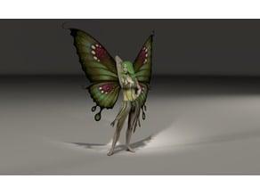 Standing posing Fairy