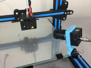 Camera mount for monitoring 3d prints