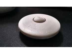 Mini Flying Saucer UFO Fidget Spinner Hand Spinner