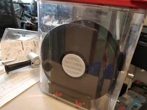 Hatchbox desiccant lid