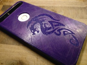 Nexus 6P Celtic Dragon Case
