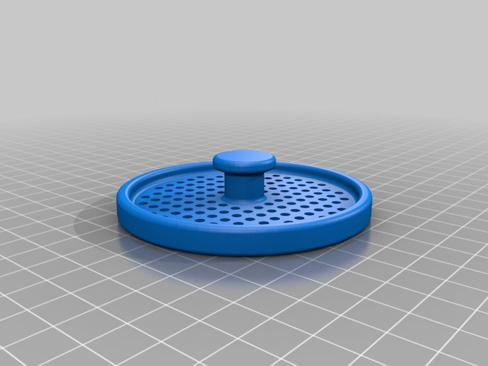 kitchen sink drain filter by ladube thingiverse - Kitchen Sink Filter