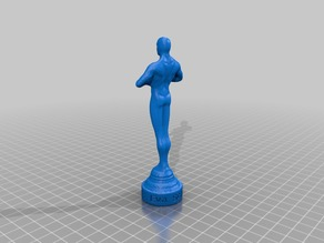 My Customized OSCAR-Statue with  text engraved