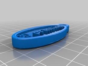 3D printing keychain