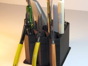 Desktop tool holder