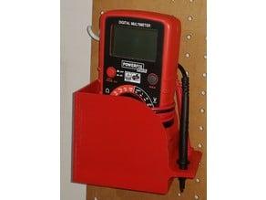 Multimeter holder