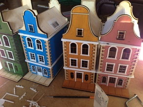 Laser Cut Townhouse