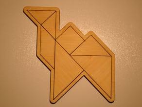 Tangram Camel puzzle