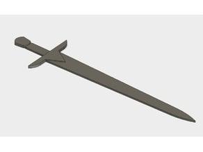 Bookmark - Sword