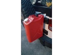 Jerry Can holder system- Jeep Wrangler Unlimited (JKU)