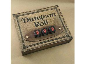Dungeon Roll lasercut organizer