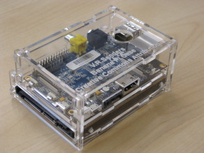 Banana Pi clip case with drive bay