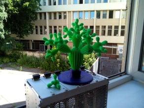 Cactus fractal model