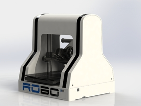 Complete RoBo3D Printer by Mike Kelly