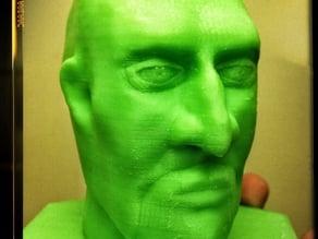 Henchman Head Sculpt