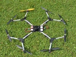 Octo2GO - foldable Octocopter