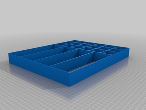 12in x 15in  x 1.5in Drawer Divider