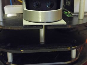 "Adjustable LIDAR Housing for Scanse ""Sweep"""