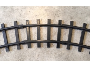 Lionel Polar Express Curved Track
