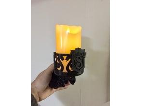 Harry Potter - Slytherin LED Candle Holder Wall Sconce