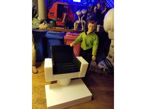 Star Trek TOS Captain's Chair in 1:9 scale for Mego action figures