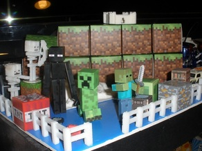Minecraft Skeleton Toy