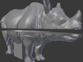 Rhino penny bank
