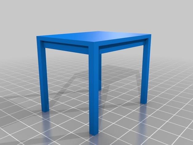 Miniature Table (Customizer)