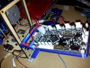 Printrbot Simple, Hinged motherboard holder, easy access.