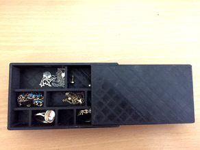 Box with divided compartments